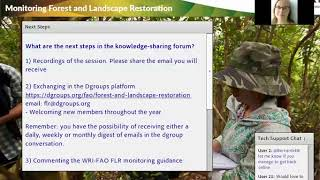 Download Next steps of the forum Innovative Approaches for Monitoring Forest and Landscape Restoration Video