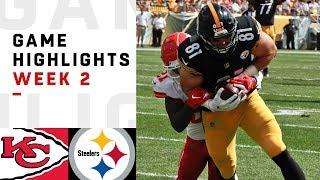 Download Chiefs vs. Steelers Week 2 Highlights | NFL 2018 Video