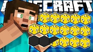 Download If a Lucky Bar was Added to Minecraft Video