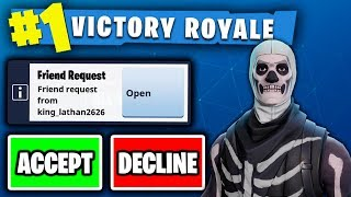 Download RANDOMLY FRIEND REQUESTING FANS ON FORTNITE!!! - (BEST CONSOLE BUILDER ON PS4!?) Video