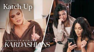 Download Kardashians Piece Together Tristan & Jordyn Cheating Scandal: ″KUWTK″ Katch-Up (S16, Ep11) Video