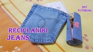 Download 2 ideias incríveis com retalhos de jeans/recycling jeans flaps#reciclando Video