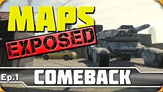 Download Ep. 1 - Comeback | Advanced Warfare Maps Exposed! (Jump, Spots & Lines of Sight) Video
