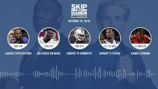 Download UNDISPUTED Audio Podcast (10.18.18) with Skip Bayless, Shannon Sharpe & Jenny Taft | UNDISPUTED Video