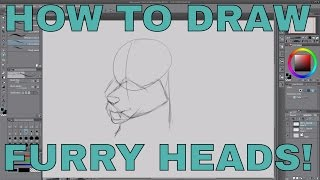 Download How i draw furry heads | Metro Draws Video