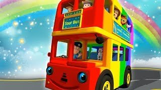 Download Wheels On The Bus Nursery Rhymes for Children Video