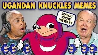Download ELDERS REACT TO UGANDAN KNUCKLES MEMES Video