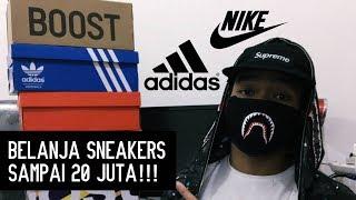 Download BELANJA SNEAKERS SAMPAI 20 JUTA!!! - Europe Sneaker Haul Video