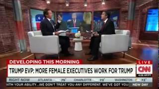 Download Donald Trump pays women execs more than men, attorney says Video
