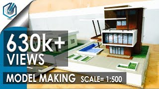 Download MODEL MAKING OF MODERN ARCHITECTURAL BUILDING Video