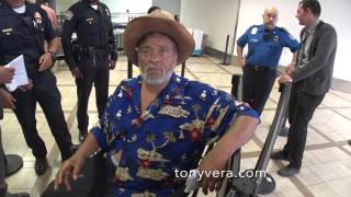 Download TSA checkpoint denying entry to civil rights attorney in a wheelchair with diabetes at LAX Video