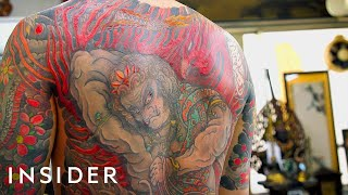 Download 73-Year-Old Tattoo Artist Is A Legend In Japan Video