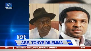 Download Magnus Abe, Tonye Cole In Legal Tussle For Party's Governorship Ticket Pt.1 |Politics Today| Video