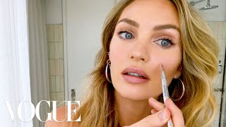 Download Candice Swanepoel's 10-Minute Guide to ″Fake Natural″ Makeup and Faux Freckles | Beauty Secrets Video