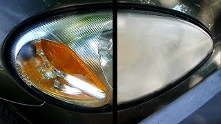 Download How to Restore your Headlights (crystal clear) Video