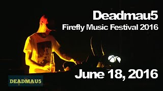 Download Deadmau5 @ Firefly Music Festival 2016, Dover [06/18/2016] (Full Set) Video