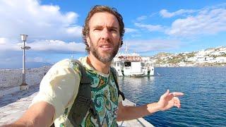 Download A Tour of Mykonos Town: Greek Island Heaven! Video