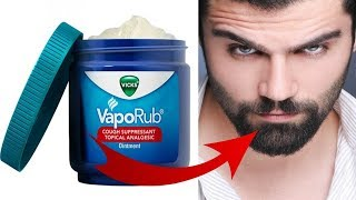 Download How To Use Vicks Vapor Rub For FASTER & BETTER Beard Growth | HAIR GROWTH TRICK!!! Video