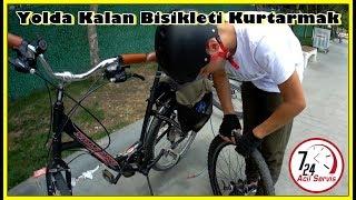 Download Yolda Kalan Bisikleti Kurtardık | Unicycle Yol Yardım 7/24 :D | Bisiklet Vlog #45 Video