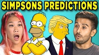 Download 10 Mind Blowing Simpsons Predictions That Came True (React) Video