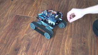 Download My tracking Arduino robot Video