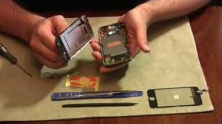 Download How to fix an iPhone Screen / Glass / Digitizer Video