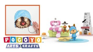 Download Pocoyo Arts & Crafts: Careta de hombre lobo de Pocoyó | HALLOWEEN Video