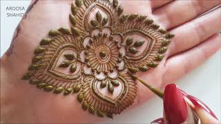 Download Intricate party henna design   Henna Art by Aroosa Video