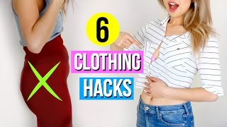 Download 6 Clothing Hacks Every Girl Must Know! Video