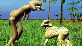 Download Tried to Evolve a Dinosaur and This Happened - Species: Artificial Life, Real Evolution Video