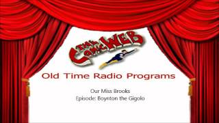 Download Our Miss Brooks: Boynton the Gigolo – ComicWeb Old Time Radio Video