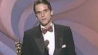 Download Jeremy Irons Wins Best Actor: 1991 Oscars Video