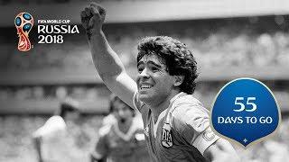 Download 55 DAYS TO GO! Maradona's moment of magic Video