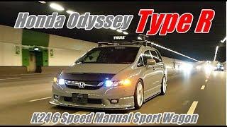 Download Honda Odyssey RB1 K24 Type R 6 Speed Manual Video