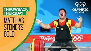 Download Matthias Steiner Shares his Emotional Beijing 2008 Weightlifting Gold | Moments In Time Video