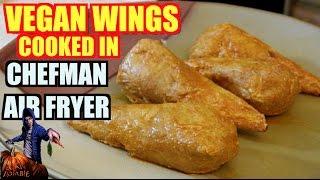 Download Vegan Wings Cooked in Chefman Air Fryer Video