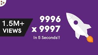 Download Fast Vedic Mental Math tricks - Multiplication 01 Video