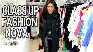 Download Make Fashion Nova Clothes Look High End, Classy, and Expensive- Try-on Haul Video