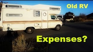 Download Expenses of RV Living in a 40 Year Old Class C || Nomadic RV Living Video