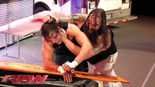 Download Dean Ambrose vs. Bray Wyatt - Ambulance Match: Raw, January 5, 2015 Video