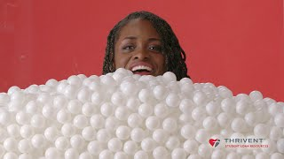 Download Students See The Cost of College In Ping-Pong Balls // Presented by BuzzFeed & Thrivent Video