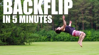 Download Learn How to Backflip in 5 Minutes | ASAP Video
