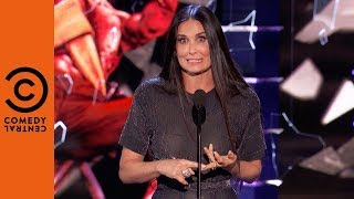 Download Demi Moore Surprises Her Ex | Roast of Bruce Willis Video