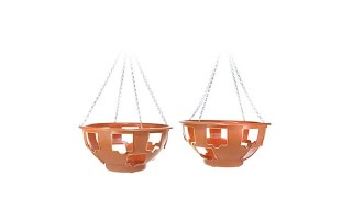Download FieldSmith 2pack of 15″ Ultimate Hanging Planter Baskets Video
