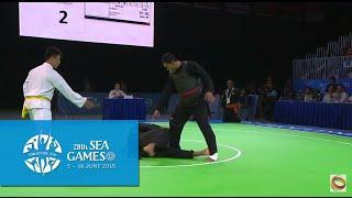Download Pencak Silat Tanding Men's Class H Final INA vs MAS (Day 9) | 28th SEA Games Singapore 2015 Video