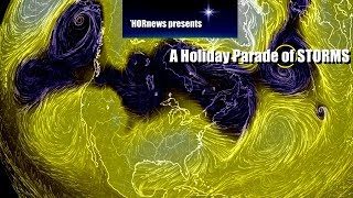 Download Multiple Storms on the Way to USA & Canada & Europe through 12-5-2017 Video
