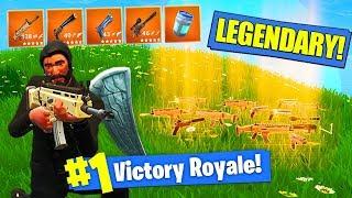 Download *NEW* LEGENDARY ONLY GUNS MODE In Fortnite Battle Royale! Video
