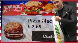 Download Testar utländsk Snabbmat från KFC, McDondalds, Burger King, Subway! Video
