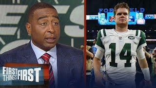 Download Cris Carter on Sam Darnold's NFL debut with the Jets, Struggling Lions | NFL | FIRST THINGS FIRST Video