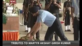 Download Tribute to Martyrs Akshay Girish Kumar 01/12/2016 Video
